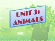 UNIT 3B: Animals Grow