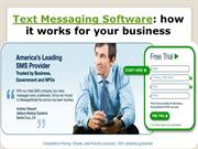 Text Messaging Software how it works for your business- message-media.