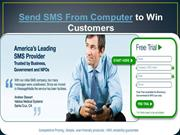 Send sms from computer to win customers- message-media.com.au