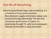 advertising ppt
