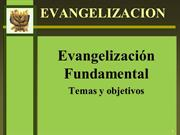 EVANGELIZACION FUNDAMENTAL COMPLETO POWER POINT
