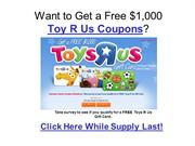 toy r us coupons september 2011