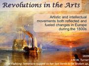 Revolutions in the Arts 2011