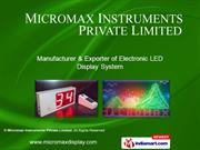 Micromax Instruments Private Limited Maharashtra India