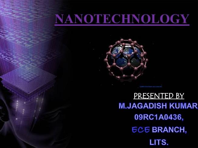 Nanotechnology Authorstream