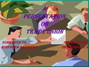 Presentation on Trade Union