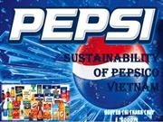 SUSTAINABILITY OF PEPSICO VIETNAM