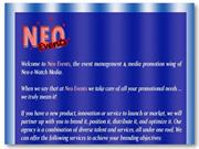 Neo Events: Top event management and brand promotion company