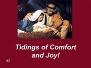 Sermon 2011-12-11- Christmas - Tidings of Comfort and Joy- Andy Zack