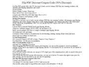 Flip PDF Discount Coupon Code (50% Discount)