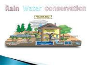 rain water harvesting