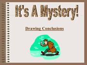 Drawing Conclusions 1