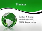 Rheology ppt