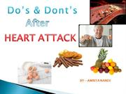 heart attack do's n dont's