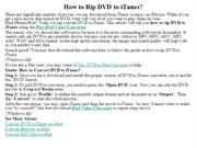 How to Rip DVD to iTunes