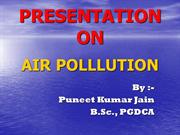 air pollution...