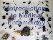 Introduction of Entomology & Mosquitoes Differentiation