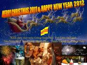 Merry Christmas 2011 & Happy New Year 2012 - André Jean Baptiste Bùi-t