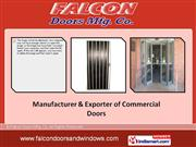 Falcon Doors Mfg  Co Maharashtra India