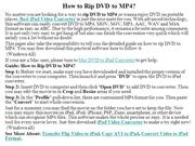 How to Rip DVD to MP4