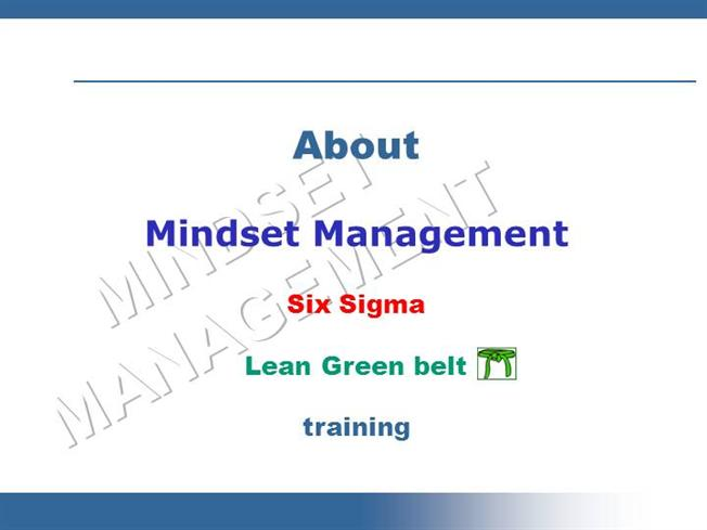 Free Lean Six Sigma Introduction Online Green Belt Certification