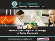 Resonance Speciality Chemicals Private Limited West Bengal India