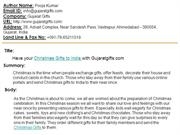Have your Send Christmas Gifts to India Online with Gujaratgifts.com