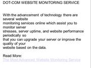 Dotcom-Monitor Website Monitoring Service Review