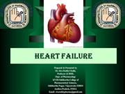Heart Failure by siva