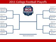 College Football Bracket (Final Draft)