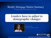 Weekly Mortgage Market Summary 5