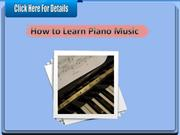 How to Learn Piano Music