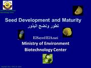 Seed, Fruits structure & development
