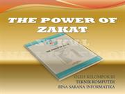Presentasi makalah The Power Of Zakat
