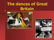 The dances of Great Britain
