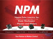Nippon Pulse Basic Mechanics