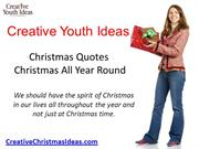 Christmas Quotes Christmas All Year Round