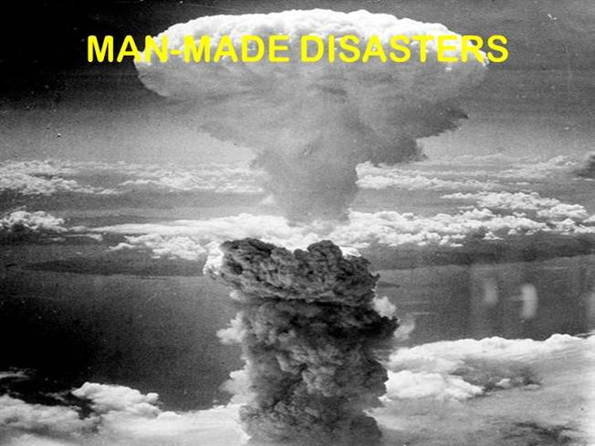 MAN MADE DISASTER DEFINITION PDF