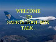 Safety Tool Box Talk
