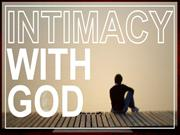 Intimacy with God, 12-11-11, Sun. pm