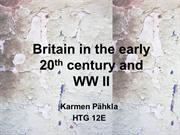 Early 20th Century and WW II (Karmen Pähkla)