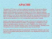 APACHE server  installation