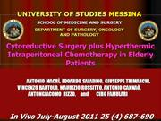 Cytoreductive Surgery plus Hyperthermic Intraperitoneal Chemotherapy i