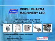 Riddhi Pharma Machinery Limited Maharashtra India