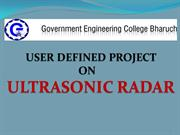 ultrasonic radar
