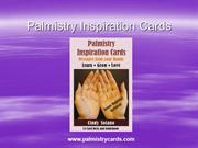 Palmistry Card Reading