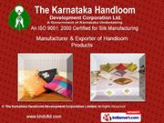 The Karnataka Handloom Development Corporation Limited Karnataka India