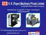 H. R. Paper Machinery Private Limited Maharashtra  India
