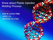 Know about Plastic Injection Molding Process
