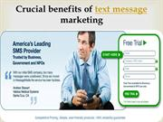 Crucial benefits of text message marketing- message-media.com.au